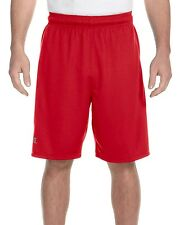 Russell Athletic 6B4DPM Men's Solid Dri-Power Colorblock Short Shorts