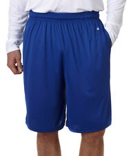 "4119 Badger Men's 10"" B-Core Performance With Pocket Solid Shorts"
