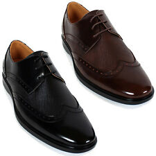 New Mooda Wing Tip Casual Mens Leather Dress Formal Oxfords Shoes Nova