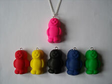 Quirky Kitsch Fimo Jelly Baby Sweet Necklace Free Gift Bag