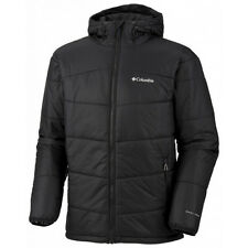 COLUMBIA MENS SHIMMER ME TIMBERS II WINTER HOODED OMNI HEAT INSULATED JACKET