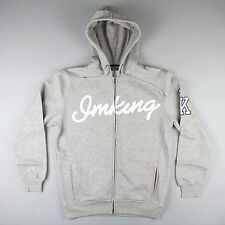 IMKING Raw Talent Zip Up Hoody - Heather Grey - Sizes - M, L & XL STREETWEAR