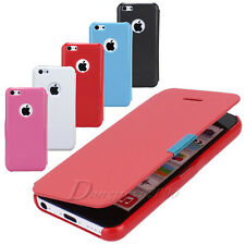 Hot Sale For Apple iPhone 5C Flip Leather Magnetic Hard Skin Protect Case Cover