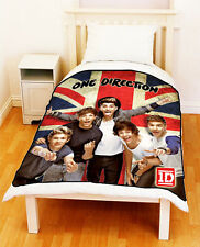 ONE DIRECTION 1D Union Jack Flag Unique Bed Throw Fleece Blanket Large Medium
