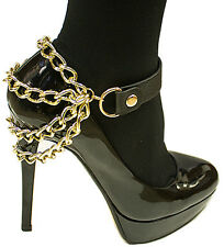 Shoe Ankle Bracelet Chain Boot Anklet Celebrity Fashion Womens Foot Jewelry