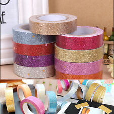 Ruban décoratif brillant adhésif rouleau autocollant galon scrapbooking tape