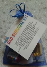 DAD SURVIVAL KIT Novelty Keepsake Birthday Gift Present For Dad Daddy Father