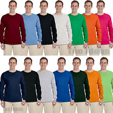 Fruit of the Loom - Heavy Cotton Long Sleeve T-Shirt Cotton Tee S-3XL 4930R-4930