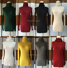New Women Turtleneck Knit Casual  Long Sleeve Wool Pullover Outwear Top Sweater