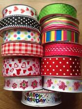 2 Metres  Extra Wide Wired Edge Ribbon - 63mm / 38mm wide - Glitter, gift, craft