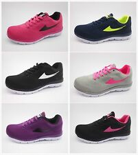 M58—New Womens Sneakers Lace Up Athletic Tennis Sport Shoes Running Size 5--10