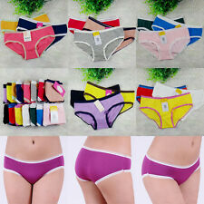 1/3Pcs New Cute Cotton Lady Girl Underpants Intimates Briefs Underwear Panties