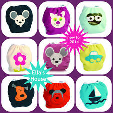 Ella's House applique wrap ***new*** for over cloth nappies