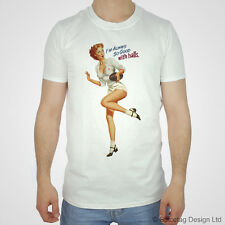 England T-shirt Rugby Pin Up Girl Tshirt English 2014 Championship Lion Rose Top