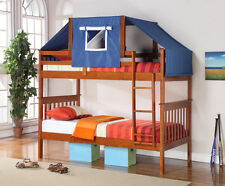 TWIN MISSION TENT BUNK BED ESPRESSO bunkbeds beds!!!