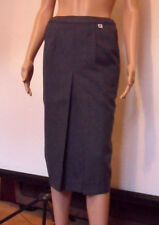 "*BRAND NEW, SMART LADIES GREY SKIRT, SUBTLE HERRINGBONE PIN STRIPE, 27.5"" LONG*"