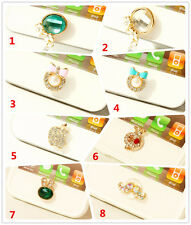 3D Crystal Bling Home Button Sticker For iPhone4,4S,5 5s,iPad2,3,4 Mini,iTouch