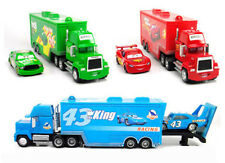 Pixar CARS 43/95/86 King/Chick Hicks/Lighting Mcqueen Truck Toy Mack Diecast