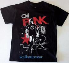 "CM PUNK WWE AUTHENTIC ""IMAGE"" WWE KIDS & ADULT SIZED BRAND NEW SHIRT"