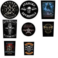 Avenged Sevenfold Sew On Back Patches NEW OFFICIAL. Choice of 4 designs