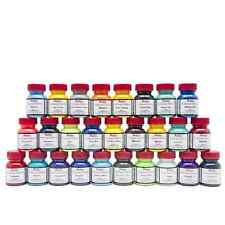 Angelus Leather Acrylic Paint 1oz Bottle Collectors Edition - Plenty Of Colours