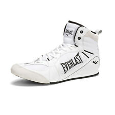 Everlast Hurricane Low Top Boxing Shoes (White/Black) - mma training sparring