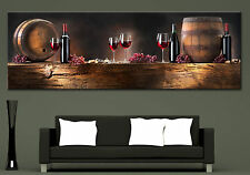Wall Art Canvas Print Wine Composition Picture Home Wall Decor Photo Prints