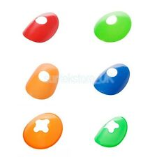 5pcs 2'' Half Cone Marker Agility Cones for Football Soccer Sports Field Marking