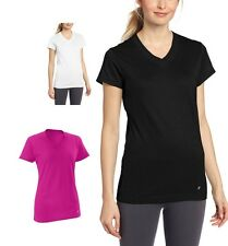 Russell Athletic Women Dri-Power 360 V-Neck Tee / Moisture-Wicking Technology
