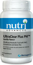 Nutri Advanced UltraClear Plus pH Alkalising Detox Energy Liver Support 966 grms