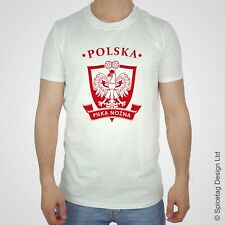 Poland World Football T-shirt Brazil Rio Soccer Team Sport Polish Tshirt Tee