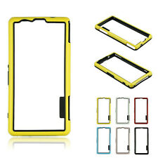 New Hybrid Bumper Frame Cover Case For Sony Xperia Z1 Compact M51w