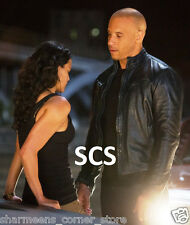Fast and Furious 6 Dominic Toretto Vin Diesel Black Jacket
