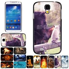 Cat Horse Printed Custom Pattern DIY Case Cover For Samsung Galaxy S3 S4 #685