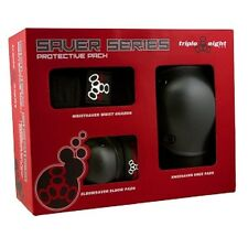 Triple Eight -Skate Saver Series 3-Pack -Wrist Guards,Knee Pads & Elbow Pads-NEW