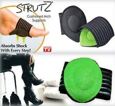 Strutz Cushioned Foot Arch Support Shock Absorber Feet Relief Pain Mens Womens