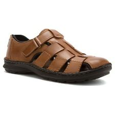 CLARKS  SWING COVE MEN'S SANDALS TAN LEATHER STYLE #68025