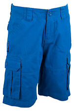 Cargo Kids Multi Pockets 100% Twill Cotton Sporty Outdoor Combat Shorts Children