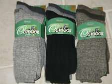 NWT 3 Pair Windsor Mens 10-13 Wool Mix Outdoor Socks Hiking Casual Winter CHOOSE