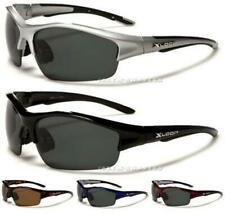 SPORTS FISHING MENS LADIES NEW BLACK DRIVING LARGE WRAP BIG POLARIZED SUNGLASSES