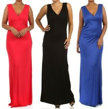 LD8 New Womens Cocktail Wedding Evening Party Long Maxi Summer Beach Plus Dress