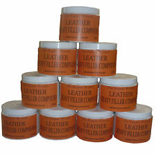 250ml Leather Repair Filler Compound For leather restoration cracks burns & hole