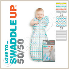★ Love to Swaddle Up 50/50 by Love to Dream™ - Baby Sleeping Bag & Zip Up Wrap ★