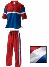 Demo Team Freestyle Uniform Red Martial Arts Suits Gi Adults Childrens Kids