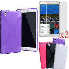 4in1 TPU Gel Case Cover + LCD Screen Protector F Samsung Galaxy Tab Pro 8.4 T320
