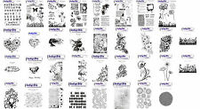 Indigo Blu Rubber Stamps - MULTIPLE DESIGNS & stamp sets