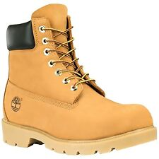 Timberland Brown Leather Boots Mens Sizes Wheat 18094 Waterproof Construction