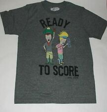 Beavis and Butthead Mens Golf Shirt Ready to Score New NWT