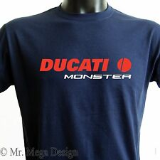 DUCATI MONSTER T-SHIRT motorcycles tee - 5 COLORS - ALL SIZES