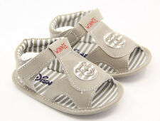 Brand new Baby Boy Crib Sandals Shoes Soft Sole Clogs For 0-18 month #di43#
